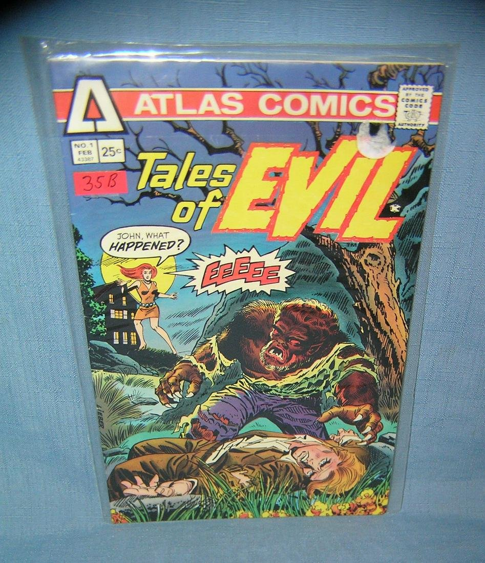 Vintage Tales of Evil first edition comic book
