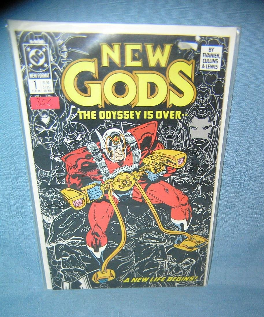 Vintage New gods  first edition comic book
