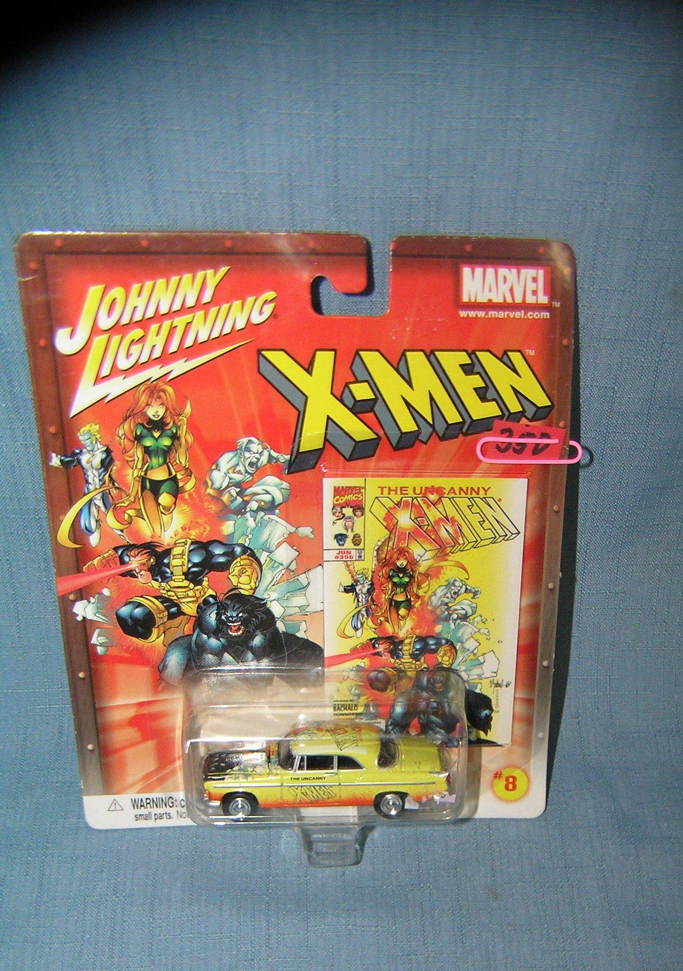 Vintage Johnny Lightning Xmen custom car