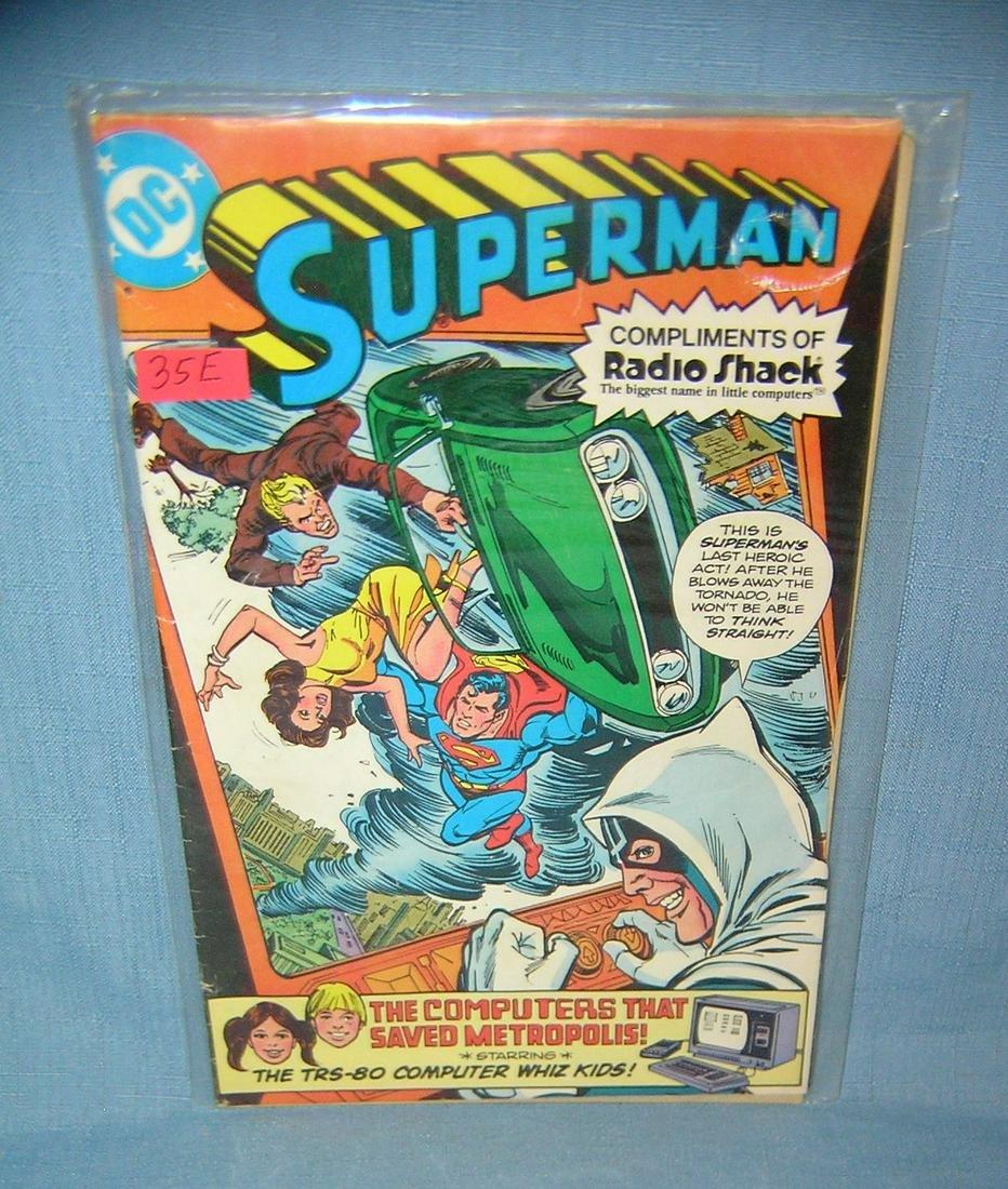Superman Radio Shack Special 1st ed. comic book