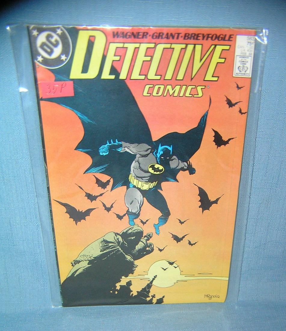 Vintage Batman comic book