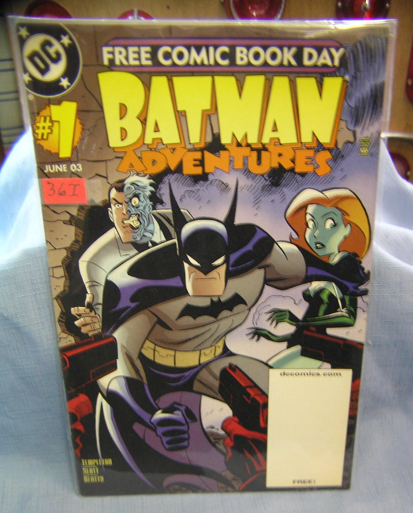Batman first edition special issue comic book