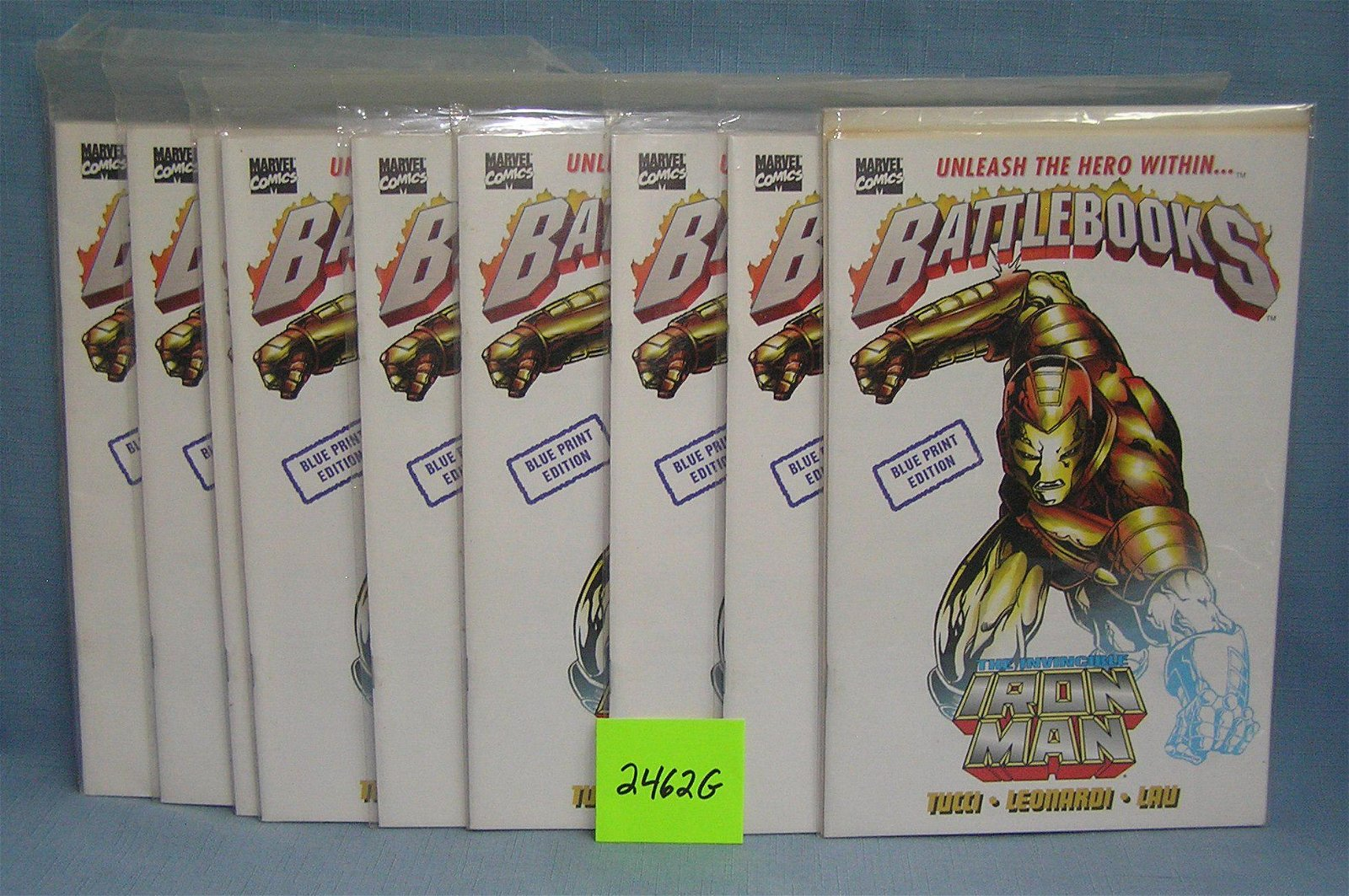 Marvel Iron Man Blue Print 1st edition comics