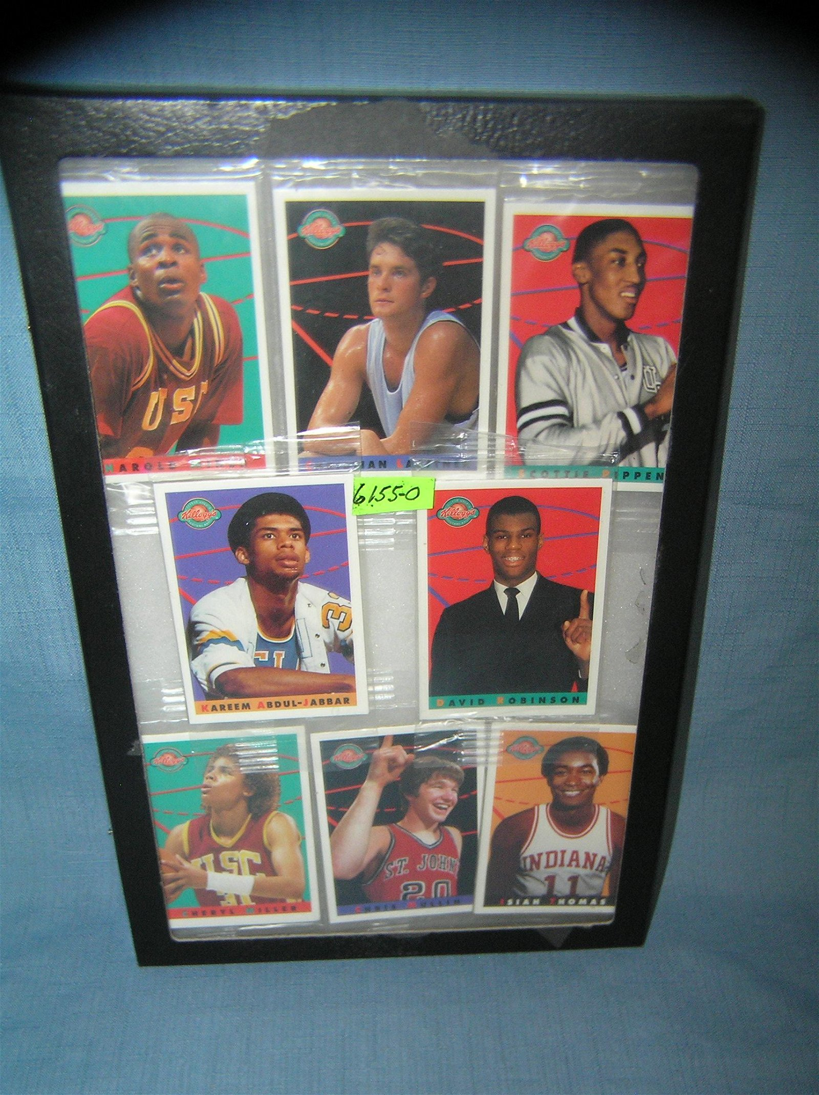 Collection of vintage basketball unopened card packs