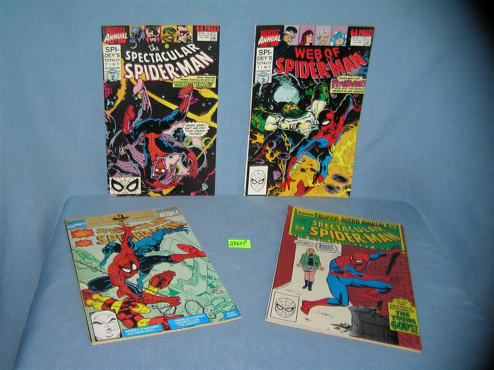 Vintage Spiderman special edition comic books