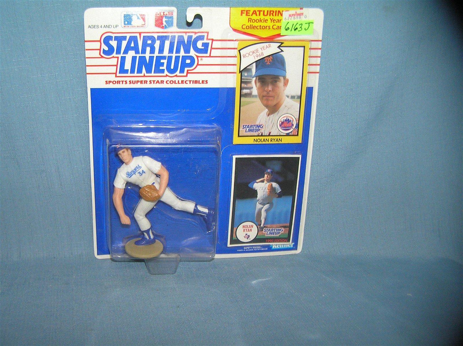Nolan Ryan vintage baseball sports figure