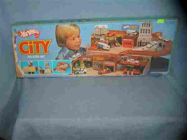 Hot Wheels City play set with original box