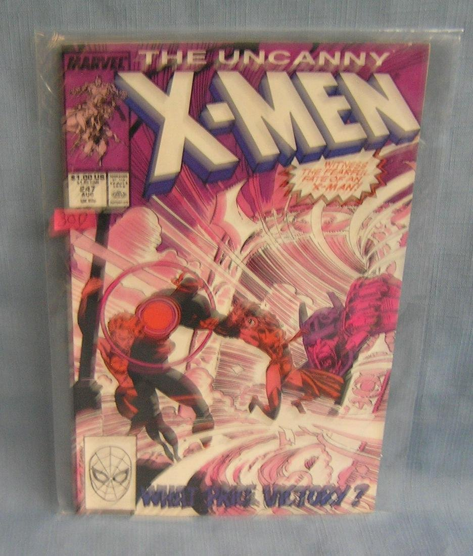 Vintage Xmen comic book