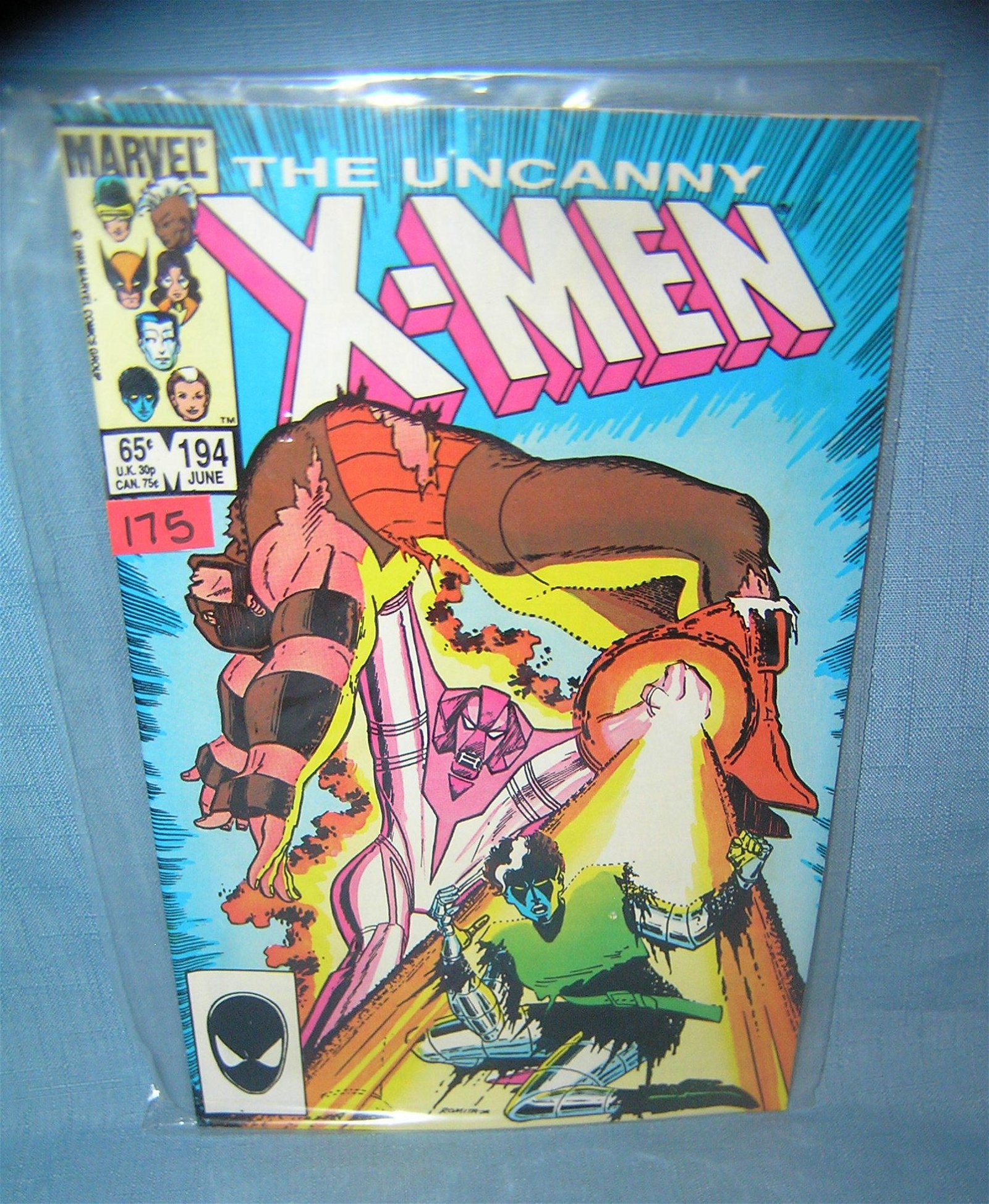 Early Xmen comic book 1985