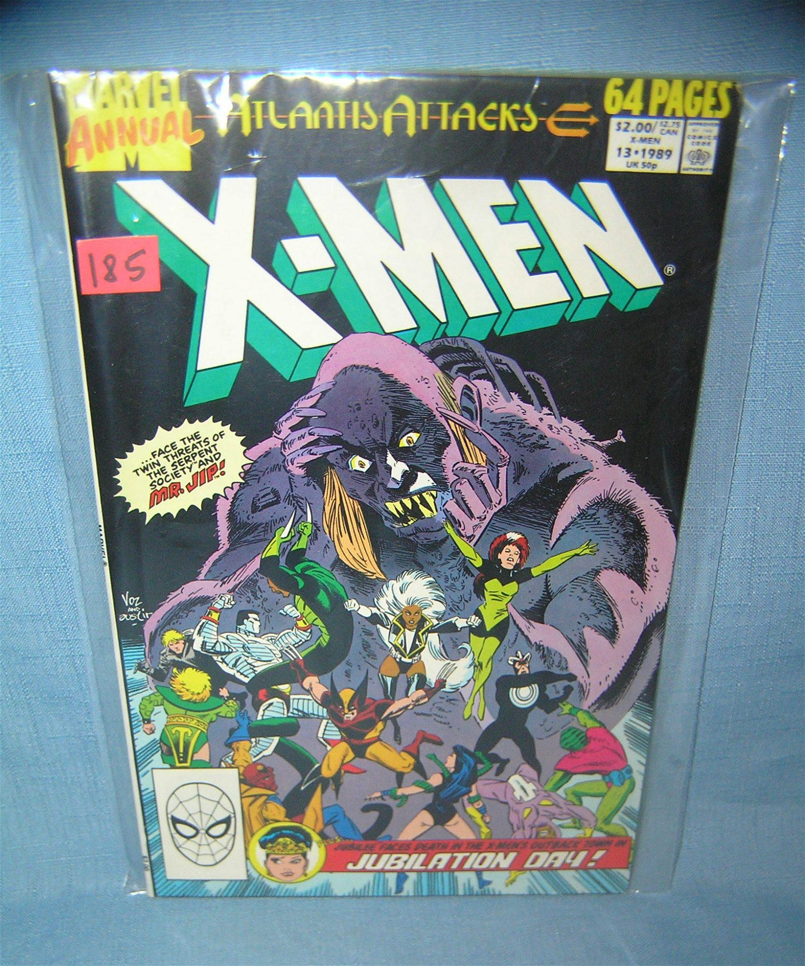 Vintage Xmen comic book annual