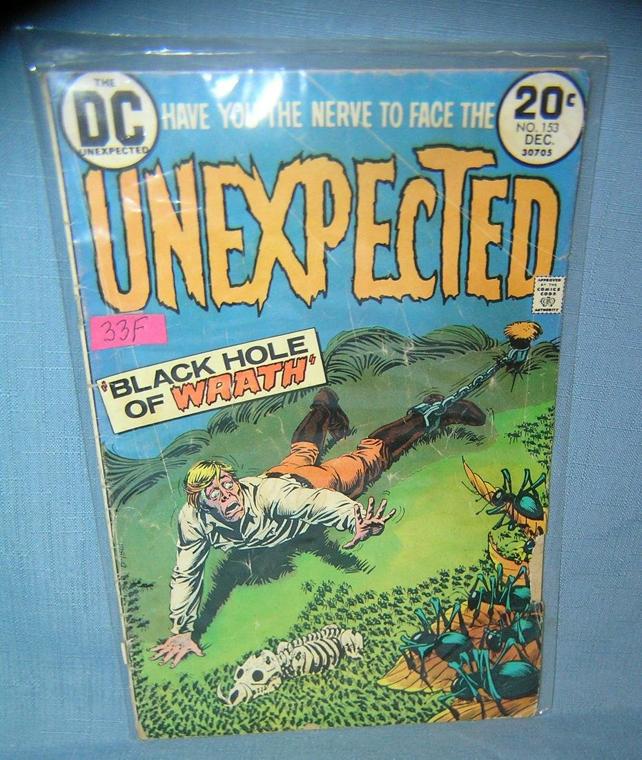 Early Unexpected comic book