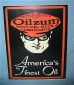 Oilzum Americas Finest Oil retro style sign