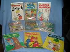 Early Dennis the Menace comic books