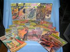 Collection of Classics Illustrated comic books