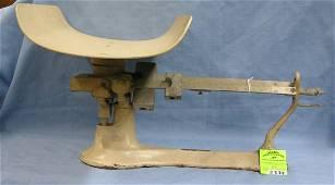Antique Detecto cast iron scale