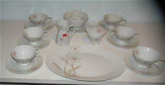 Designer signed Rosenthal dinnerware set