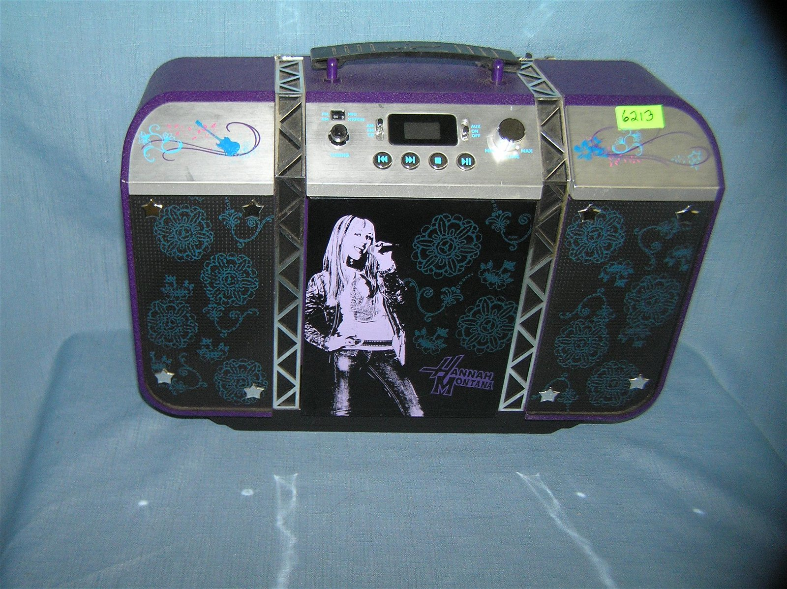 Hannah Montana limited edition boom box