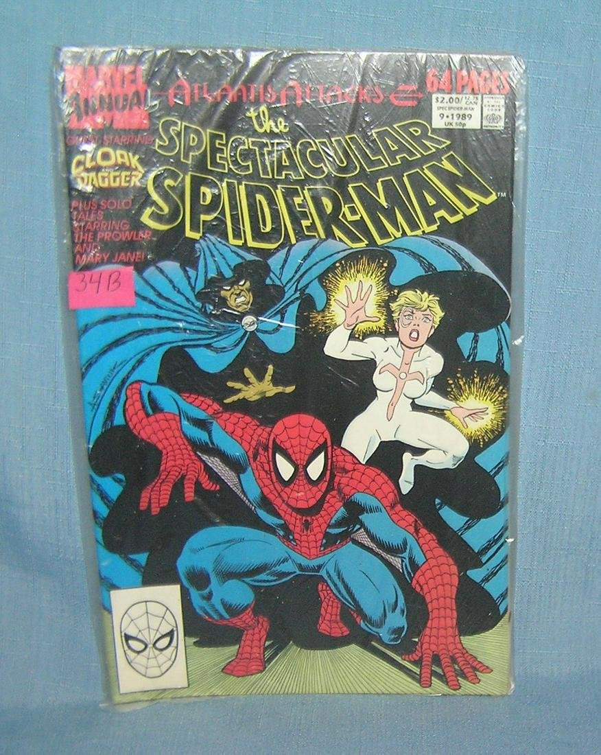 Vintage Spectacular Spiderman comic book