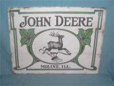 John Deere tractor Retro Style Advertising sign 12x16