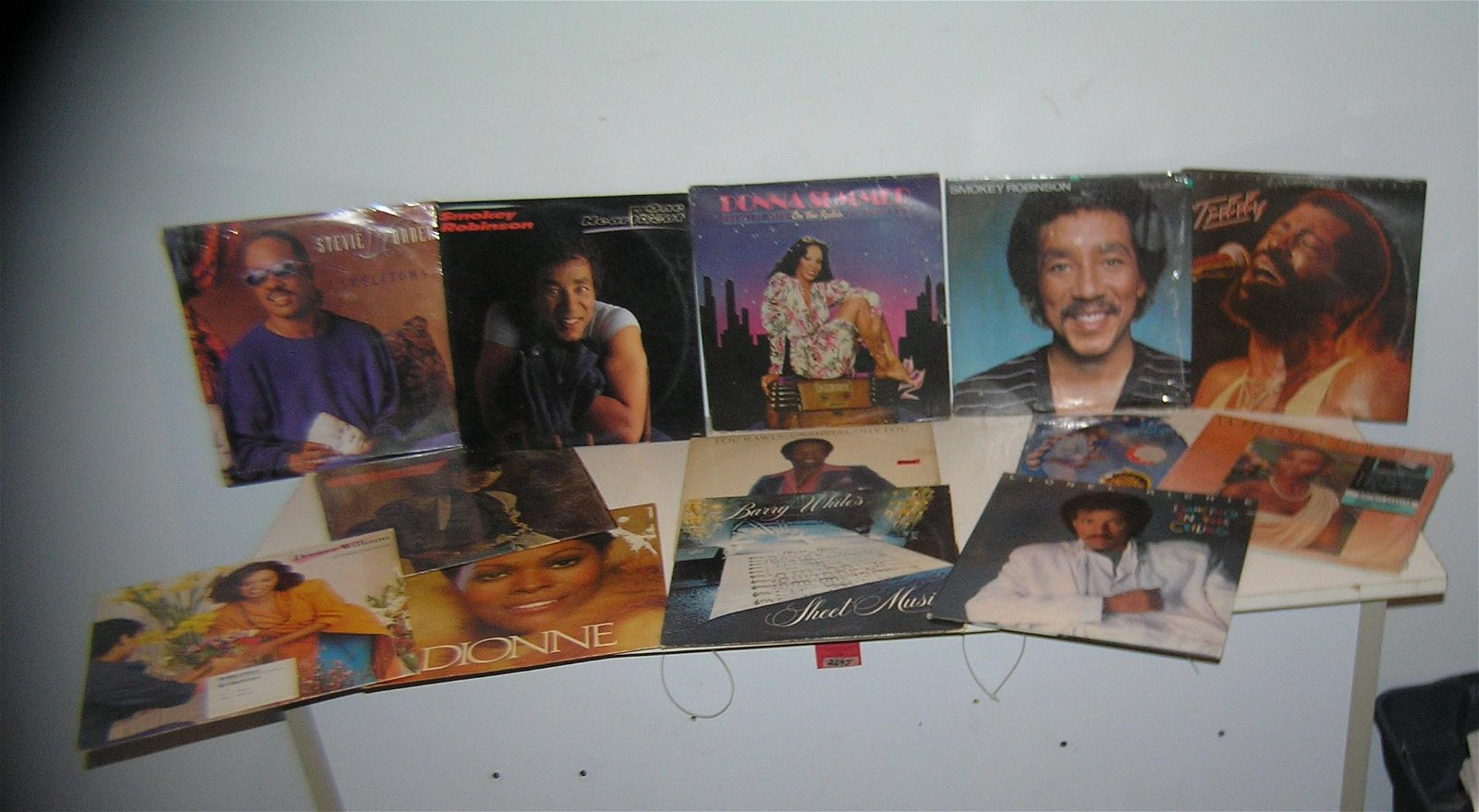 Large collection of vintage disco and dance music