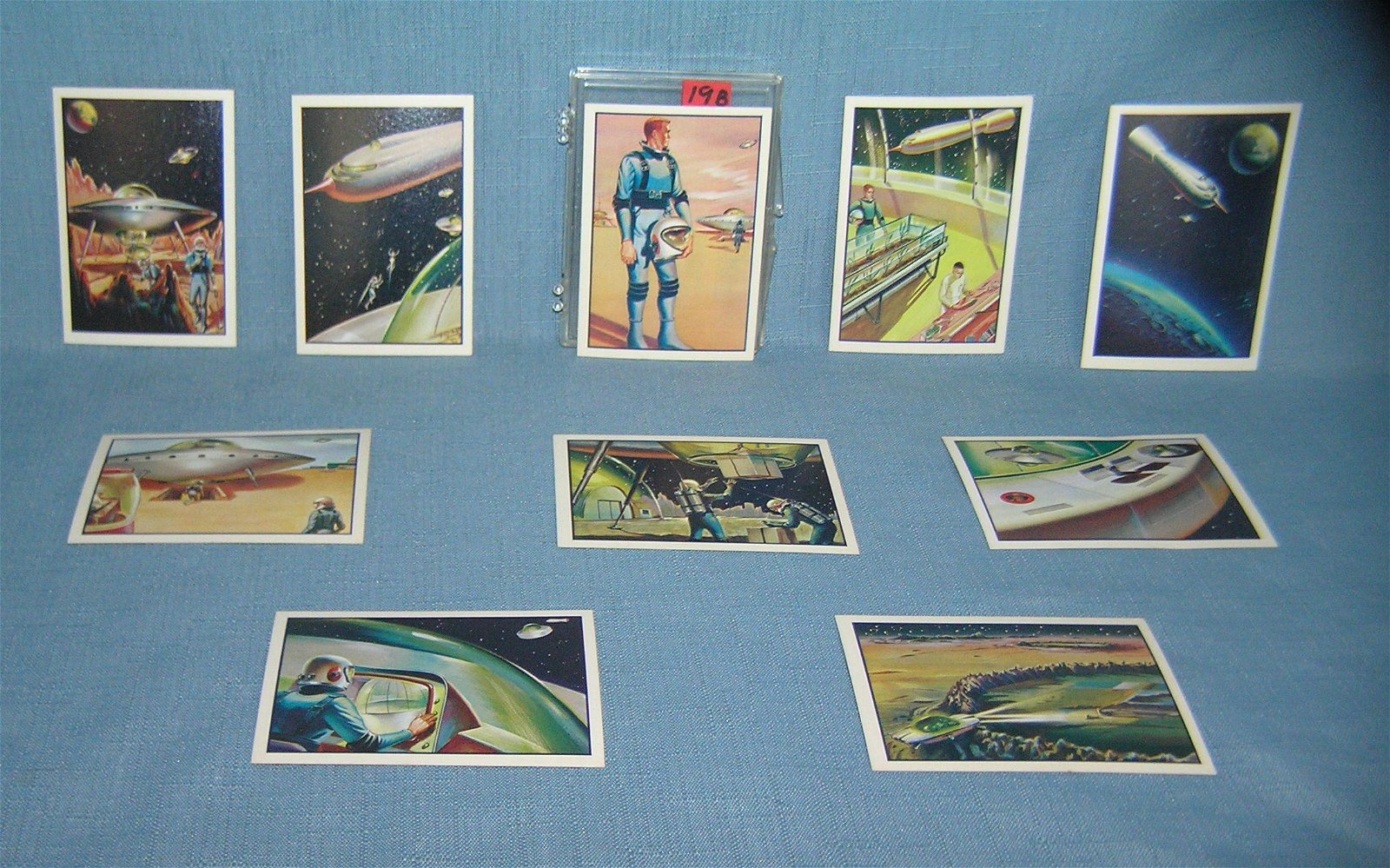 Set of 10 Space Adventures of Capt. Chapel by Mr.