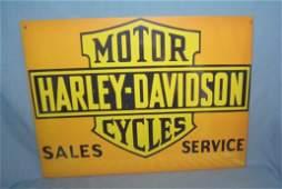 Harley Davidson Motorcycles retro style sign
