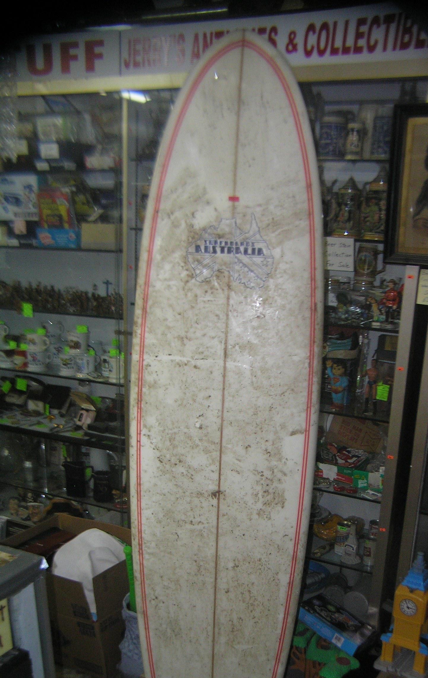 Australian surf board 7 feet 3 inches