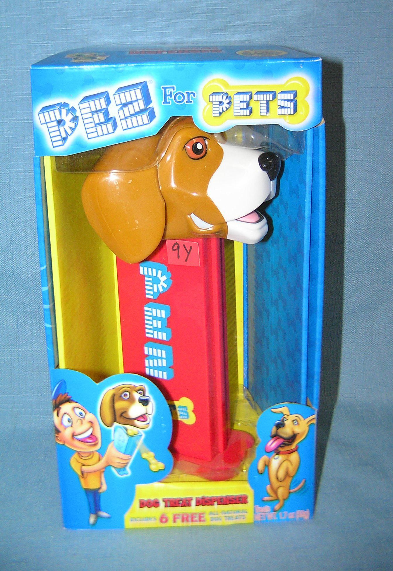 PEZ for pets over sized dog treat dispenser