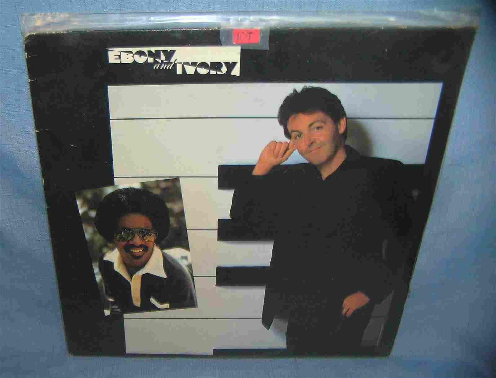 Ebony and Ivory record album by Paul McCartney