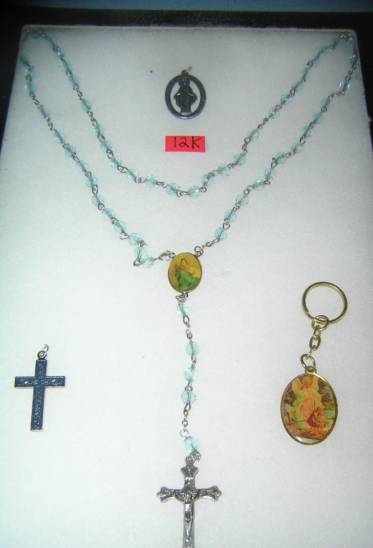 Group of vintage religious jewelry