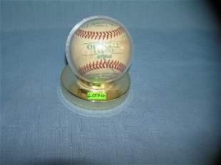 Diamond official league promotional leather baseball
