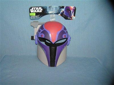 Star Wars Sabine Wren storm trooper mask