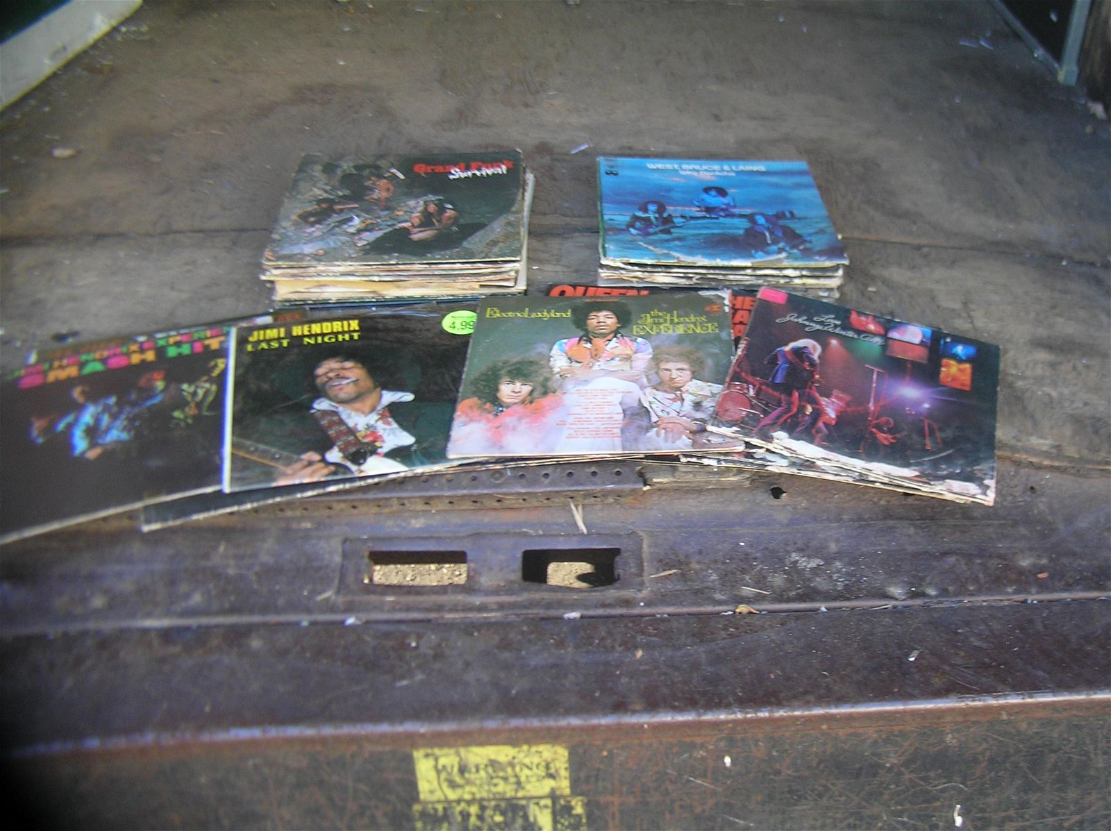 Large group of Rock and Roll records