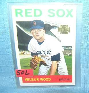 Wilbur Wood Topps archives baseball card