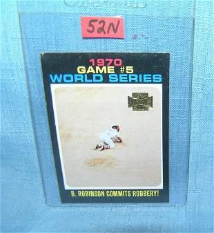 Brooks Robinson Topps archive baseball card