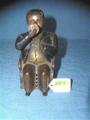 Antique Boss Tweed Tammany Hall Bank