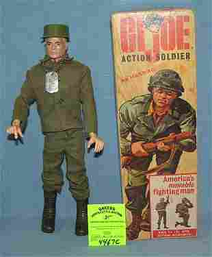 Early original GI Joe action soldier