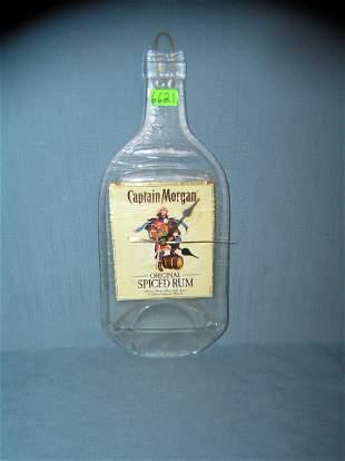 Captain Morgan advertising bottle