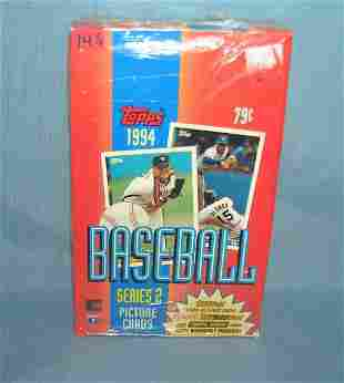 1994 Topps factory sealed box of cards
