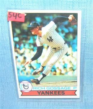 "Rich ""Goose"" Gossage vintage all star baseball card"