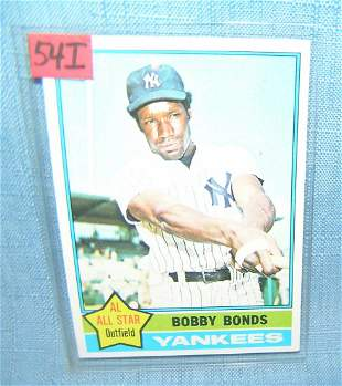 Bobby Bonds vintage all star baseball card
