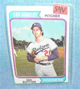 Don Sutton vintage all star baseball card