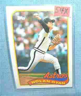 Nolan Ryan vintage all star baseball card