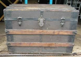 Antique travel/storage trunk