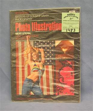 Vintage photo illustrated magazine with erotica