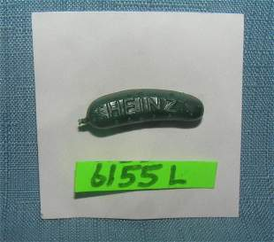 Heinz 1939 World,s Fair advertising pickle pin