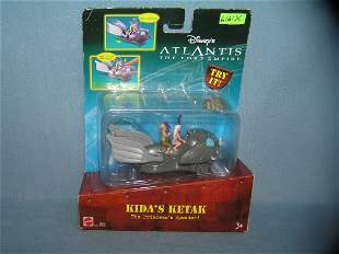Disney's Atlantis action figure and vehicle set