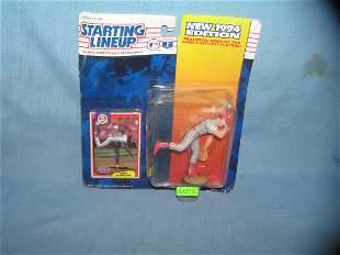 Curt Schilling baseball sports figure and baseball card