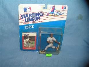 Chris Brown baseball sports figure and baseball card