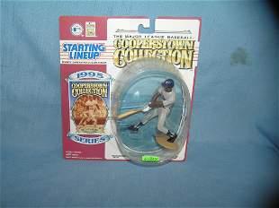 Rod Carew baseball sports figure and baseball card